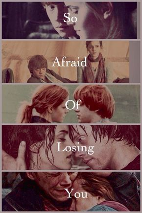 The Love Story Of Ron And Hermione I Know That Initially They Are Not Meant To Be Together But I Really Ron And Hermione Harry And Ginny Harry Potter World