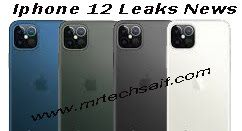 Apple Iphone 12 Leaks News Launch Date N Pictures Or Price N Design In 2020 Apple Iphone Iphone Leaks