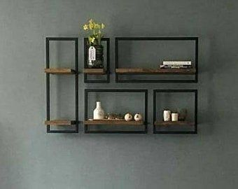 Decorative Wall Shelfs Bookcase Bookcase Book Shelf Wallrack Walldecor Wallrack Homedecor Wooden Woo In 2020 Decor Metal Furniture Design Home Decor Furniture