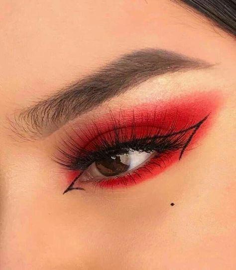 Edgy Makeup, Makeup Eye Looks, Eye Makeup Art, Crazy Makeup, Cute Makeup, Pretty Makeup, Skin Makeup, Makeup Inspo, Makeup Meme