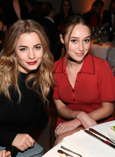 Actresss Valentina Novakovic and Alycia Debnam-Carey attend Australians in Film's 5th Annual Awards Gala.