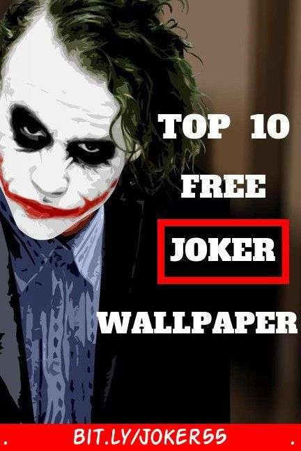 Here Are Top 10 Best Free Joker Wallpaper For Your