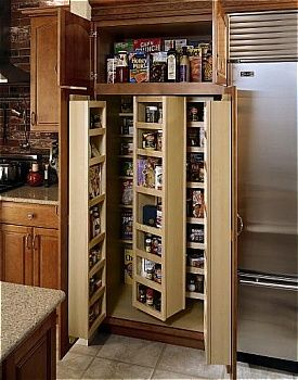 Diamond Lowes | Organization Cabinets U003e Tall Cabinets | Galley Kitchens |  Pinterest | Organizations, Pantry And Tall Kitchen Cabinets