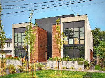 Modern home duplex house plans design ideas pictures remodel and decor also rh pinterest
