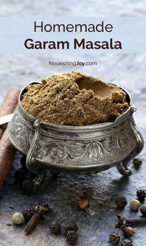 Homemade garam masala is the spice crown jewel of East Indian cuisine and absolutely makes curries SING. This spice blend uses easy-to-find ingredients & mixes up in less than 5 minutes.