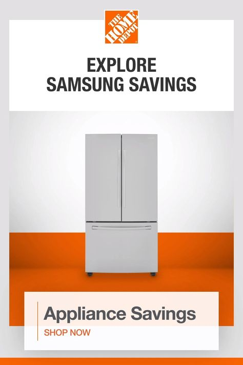 Read customer reviews and use our how-to measure guide to make an informed decision and choose the perfect appliances for your home. Get free shipping on appliances purchases over $396. Tap to get appliance savings from The Home Depot.​