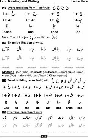 Urdu Kitab ا ردو کتاب Urdu Reading Writing Reading Writing Language Urdu Urdu Urdu comprehension worksheets for
