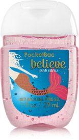 Believe Pink Citrus Pocketbac Sanitizing Hand Gel Soap