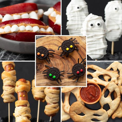 These scarily simple treats can all be created in less than 15 minutes for a spooky holiday celebration. Happy GEICOween!