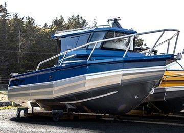 2750 Centrecab Boat Lodka Yahta