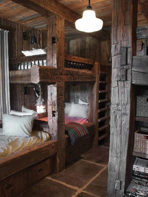 Cool cabin sleeping space