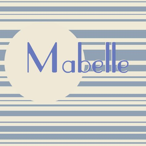 Mabelle - The Sweetest French Baby Names for Girls - Photos