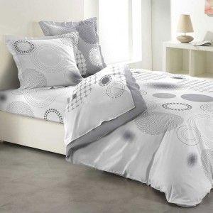 Parure De Draps 4 Pi Ces Frou Frou Anthracite Home Decor Home Bed