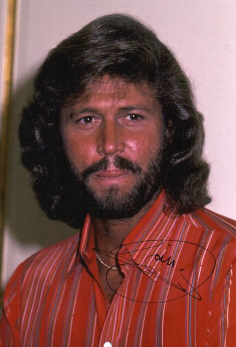barry gibb   Barry Gibb 'The Bee Gees' 'Signed' 10x8 Photo AFTAL