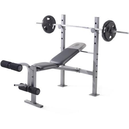 Gold S Gym Xr 6 1 Weight Bench Durable Steel Construction With Images Weight Benches At Home Gym Golds Gym