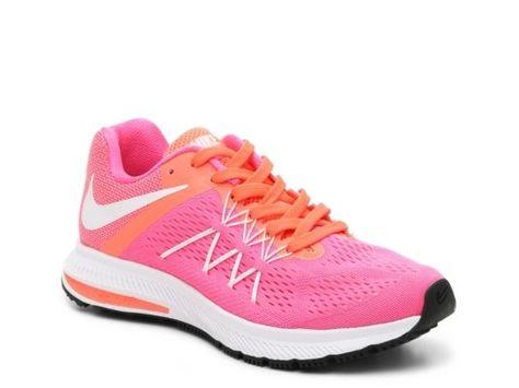 buy online bf5e9 ac821 Women s Nike Zoom Winflo 3 Lightweight Running Shoe - - Pink Orange