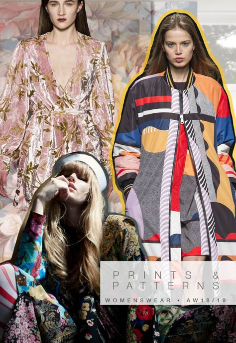 Discover the new Fall Winter 2018-19 Prints and patterns trends Directions by 5forecaStore fashion trends forecasting.