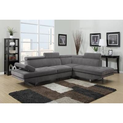 Parkman Right Hand Facing Sectional Modern Sectional Living Room Fabric Sectional Sofas Sectional Sofa Couch