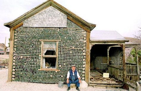 Yep, Bottle Houses have been around for a while now ;)