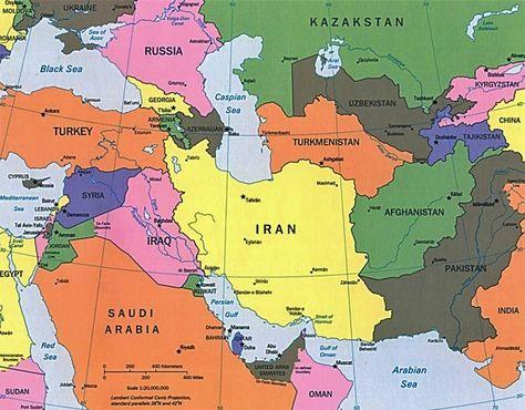 Iran Politics Club Iran Political Maps 11 Middle East Caspian