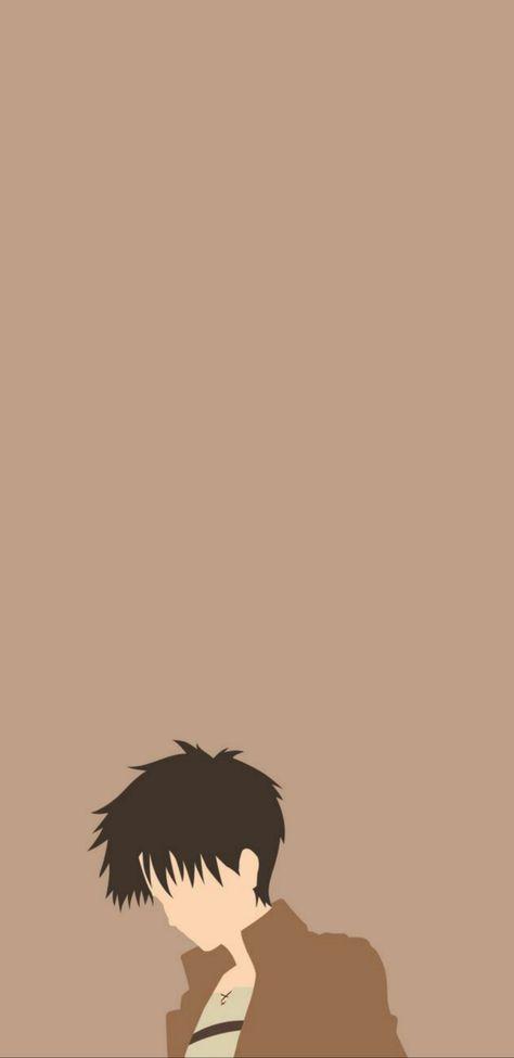 Eren yeager minimalist Wallpaper