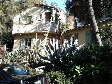 Danny Sugerman house, Laurel Canyon.
