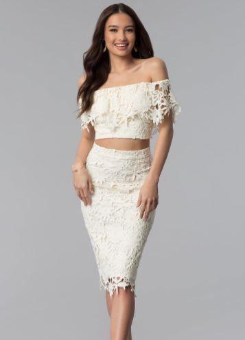 2019 Abiye Modelleri Ve Sik Gece Elbiseleri Krem Omzu Acik Dusuk Kol Iki Parca Gobek Acik Dantelli The Dress Elbise Elbiseler