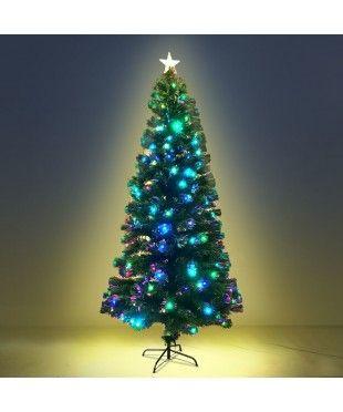 6ft Led Fiber Optic Christmas Tree Multi Colour Led Christmas Tree Christmas Tree Faux Christmas Trees