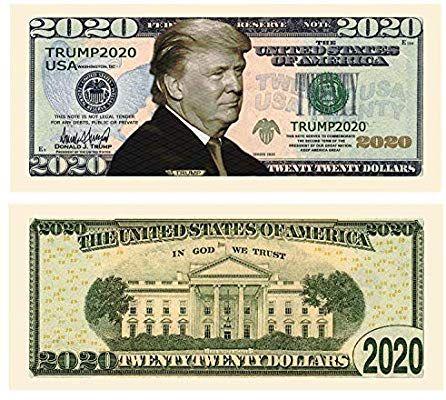 Veterans of War VFW Novelty Million Dollar Bill Funny Money Gag Gift Note