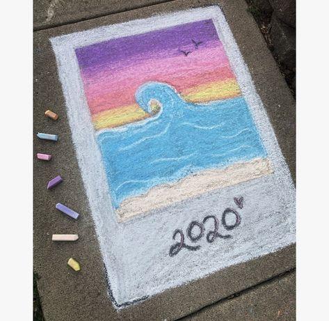 – All Things Crafty New York Graffiti, Street Art Graffiti, Graffiti Artists, Chalk Design, Chalk Wall, Chalk Drawings, 3d Drawings, Sidewalk Chalk Art, Graffiti Lettering