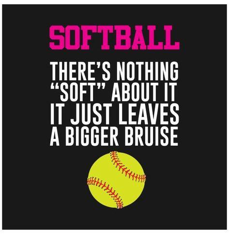 Cute Softball Quotes, Softball Catcher Quotes, Inspirational Softball Quotes, Softball Memes, Softball Workouts, Softball Uniforms, Softball Cheers, Softball Bows, Softball Shirts