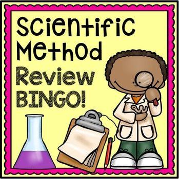 Scientific Method Activity - Review Bingo