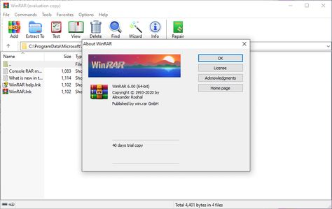 Winrar Is A Software Created By Rarlab For Windows That Is Used To Extract And Compress Files Winrar Is A Free App That Lets You Comp In 2021 Software Algorithm 32 Bit