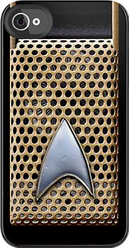Star Trek - Communicator Radio - iphone 4 4s, iPhone 3Gs, iPod Touch 4g case by Pointsale store