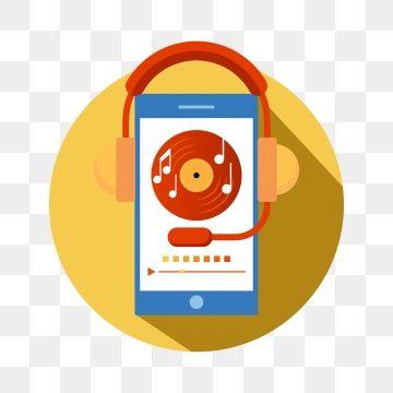 الموسيقى المحمولة واجهة البرنامج العناصر برنامج موسيقى لاعب سجل Png والمتجهات للتحميل مجانا Phone Icon Music App Mobile Phone Logo