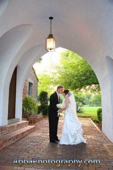 Casa Feliz Kiss In Arch Abbaphotography Orlando Wedding Photography