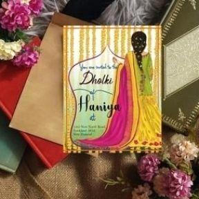 Dholki Invitation Mehndi Night Invitations Bollywood Invitation Indian Invitations Bridal Showe In 2021 Indian Wedding Invitations Wedding Invitations Wedding Cards