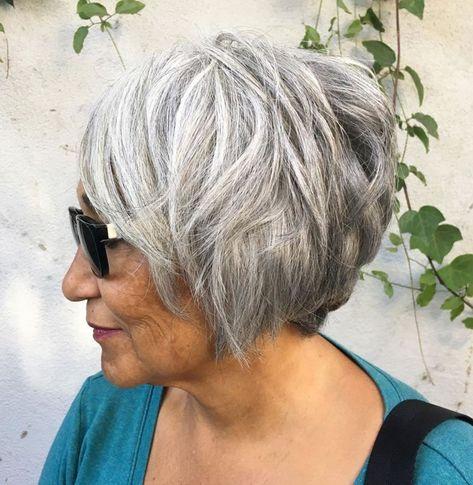 Frauen graue frisuren haare Frisuren 2021