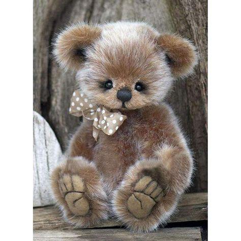 Diamond Painting-5D Full Drill Cute Bear – ANNEBUY