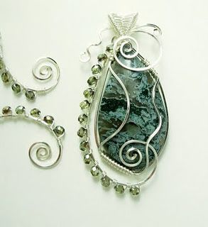 Great wirework tutorials from Dawn Blair's Jewelry