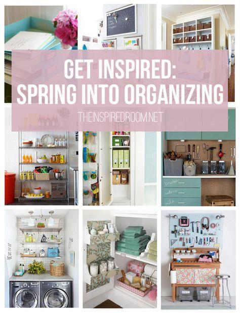 11 Ways to Spring into Organizing!
