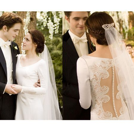 Bellas Wedding Dress In Twilight I Think This Could Be The First That See On A Movie Completely Stunned Me