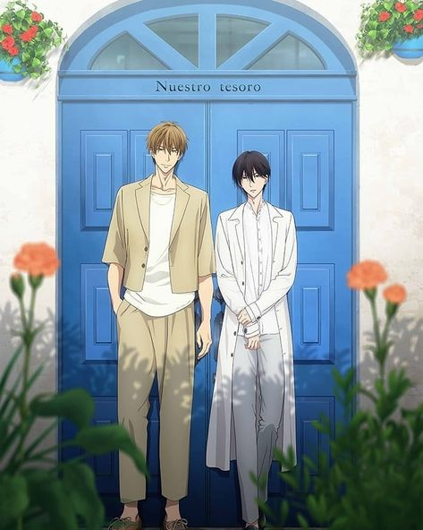 "Yaoieng on Instagram: ""Really looking forward to the movie 🎉🎉🎉✨✨✨✨ Manga/Anime ➡️ Dakaretai Otoko Ichii ni Odosarete"""