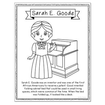 Women In History Biography Coloring Page Crafts Women S History