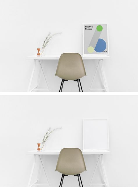 Poster Mockup PSD Template Download Free - DesignHooks