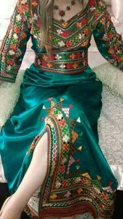 Pin By L On اللباس القبائلي Fashion Attire Stylish Dress Designs Stylish Dresses