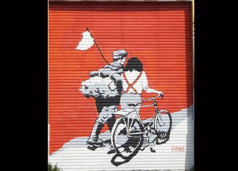 Bike Graffiti in SF
