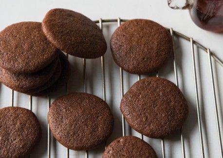 Chocolate-Orange Maple Snaps | Vegetarian Times