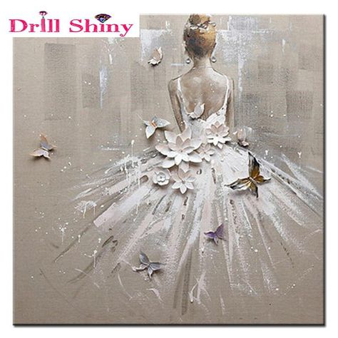 Full diamond embroidery girl stickers diy diamond painting cross stitch Needlework diamond mosaic picture Home DecorationGirl In White - Diamond Painting Kit – My Diamond Paintings