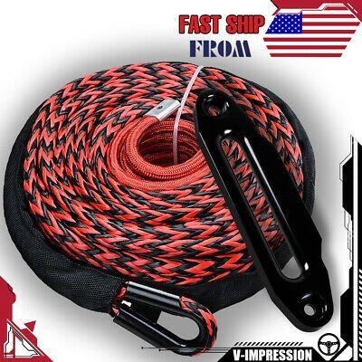 Sponsored Ebay Black Red Stripes 1 2 X 92 Winch Rope 22000lbs Hawse Fairlead 10 Mount Black In 2020 Winch Rope Mount Black Red Stripes